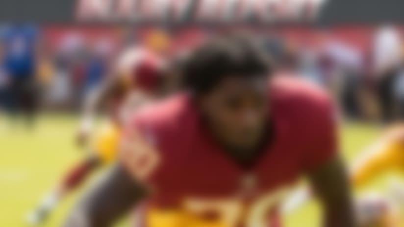 Washington Redskins running back Rob Kelley (20)