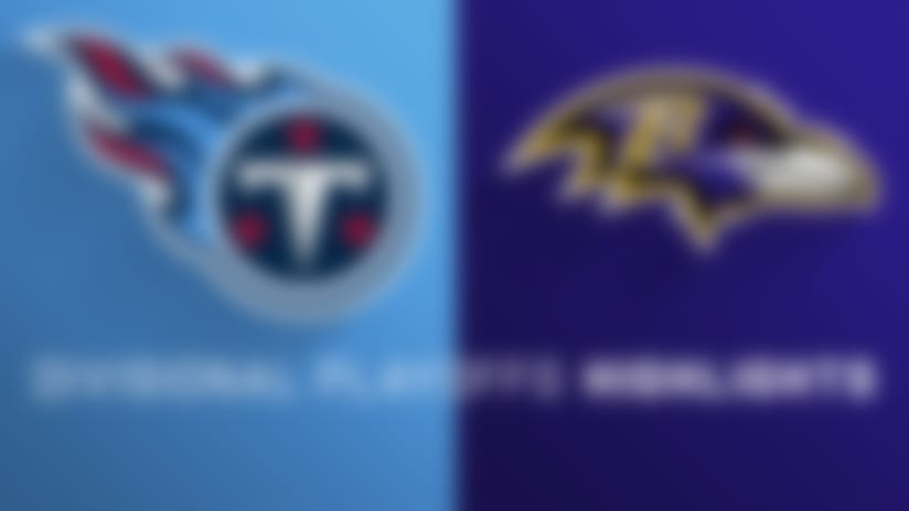 Titans vs. Ravens highlights | Divisional Round