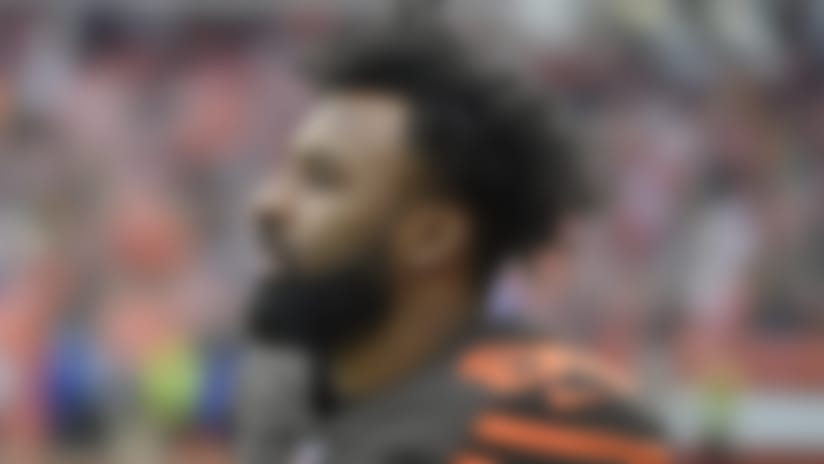 Browns WR Landry 'ahead of schedule' in rehab from hip surgery