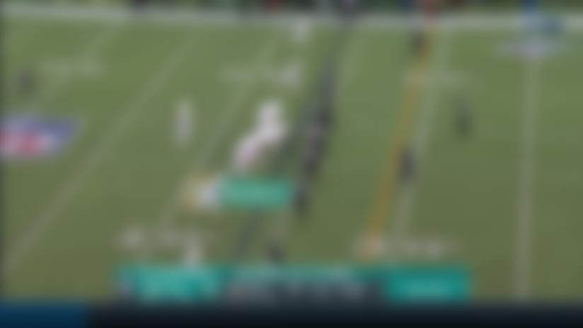 Fitzpatrick finds Patrick Laird on the double move to set up game-winning FG