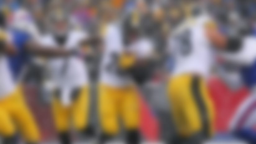 Offensive Line of the Week: Credit for Le'Veon Bell's record day