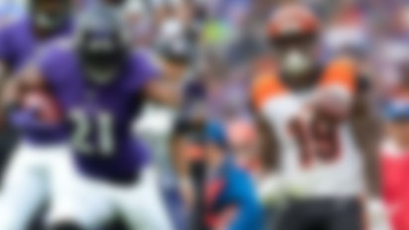 Fantasy targets and touches: Week 6
