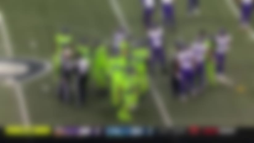 Ifedi irate after scuffle nets 'Hawks a personal foul