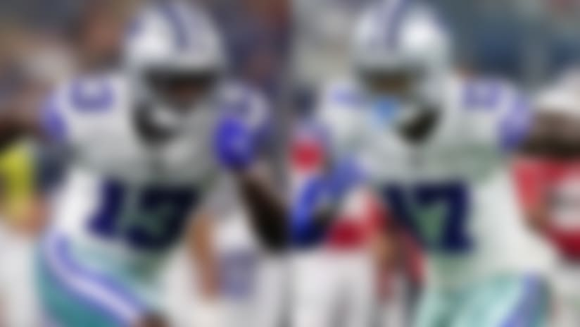 Who is the Dallas Cowboys No. 1 wide receiver for the 2018 season?