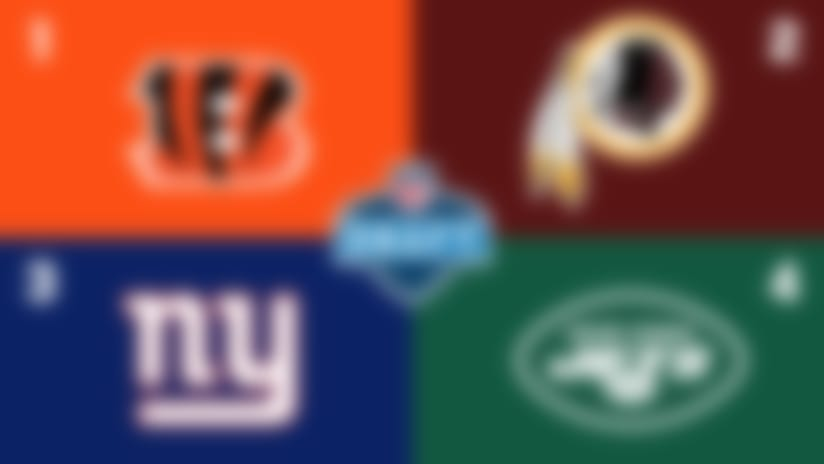 2020 NFL Draft order: Giants vault into top three; Dolphins No. 5