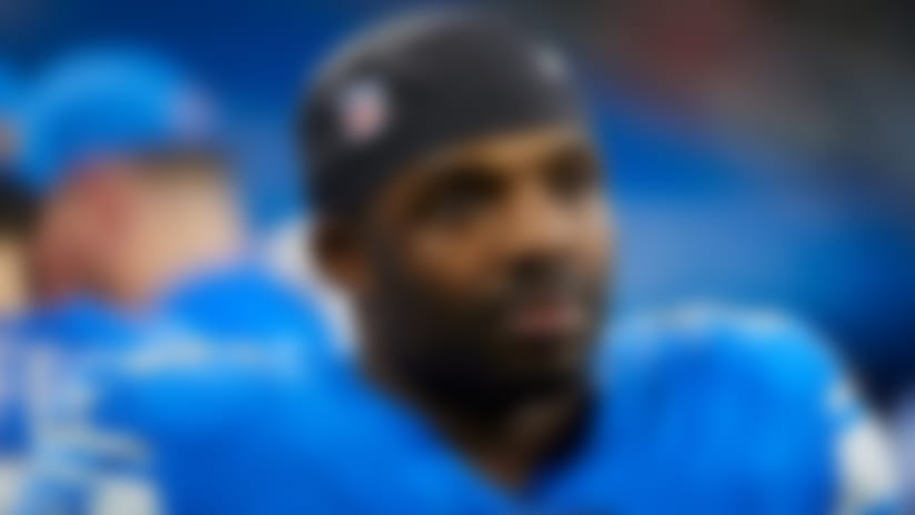 Detroit Lions running back Theo Riddick (25) on the sideline against the Los Angeles Rams during an NFL football game in Detroit, Sunday, Dec. 2, 2018. (Rick Osentoski via AP Images)