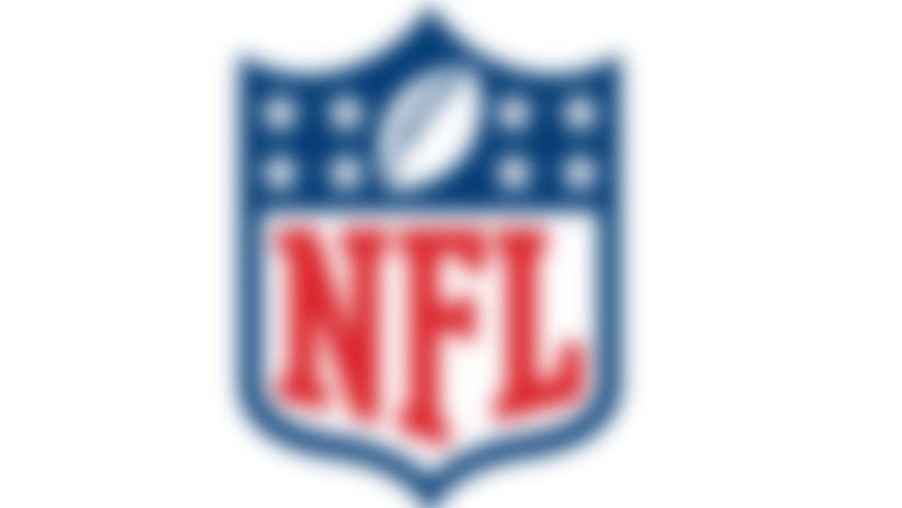 An image of the NFL logo shield