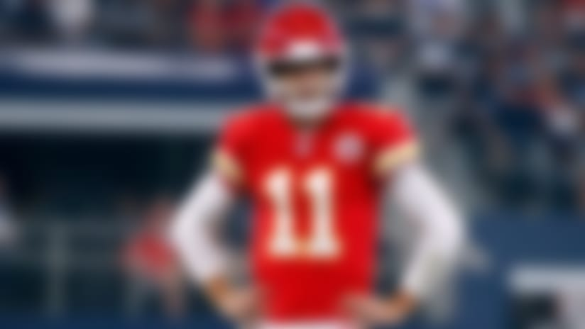 Chiefs' offensive woes open Alex Smith-Patrick Mahomes debate