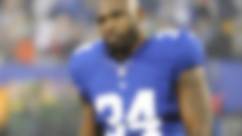 Brandon Jacobs put on New York Giants' IR list