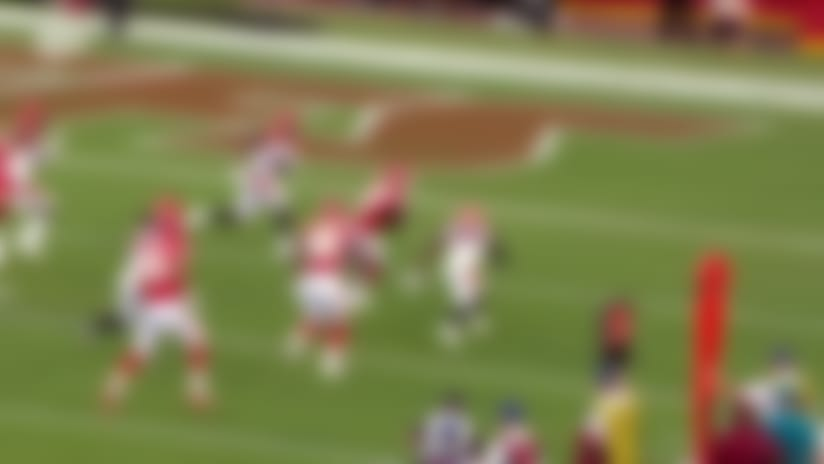 Mecole Hardman turns on the jets for first NFL TD