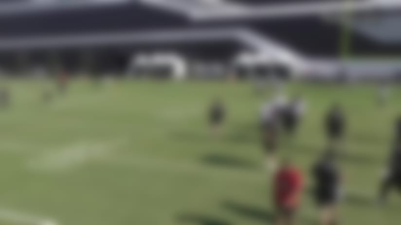 ICYMI: Ruggs makes one-handed TD grab at Raiders camp