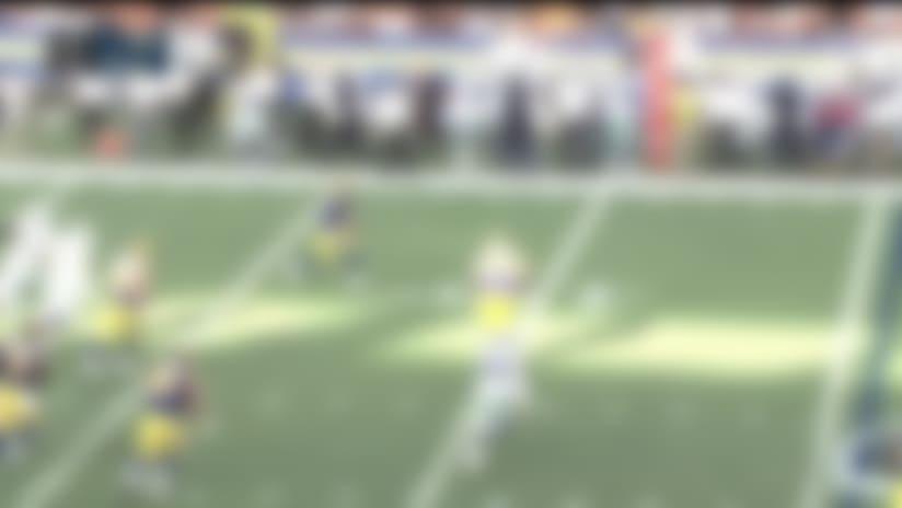 Brandon Allen escapes pressure, finds Nsimba Webster for 16 yards