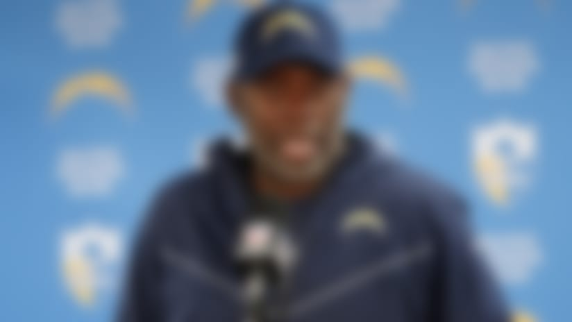 Lynn says Chargers looked at Cam Newton, but liked QBs on roster