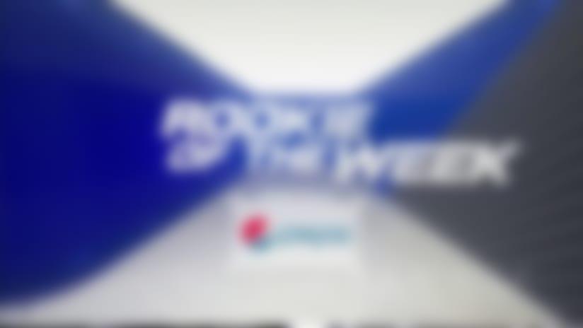 Pepsi Rookie of the Week nominees | Week 14