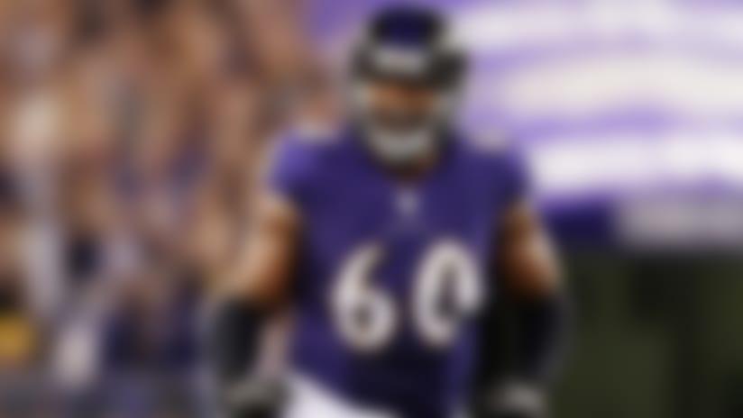 Baltimore Ravens release veteran OT Eugene Monroe