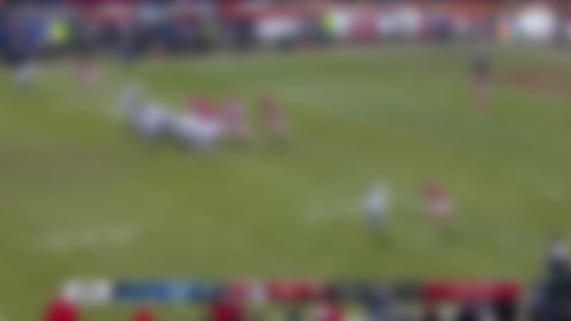 See Indianapolis Colts linebacker Najae Goode's blocked punt in 360 degrees | True View