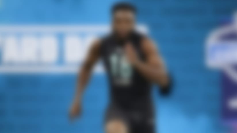 Noah Igbinoghene runs official 4.48 second 40-yard dash at 2020 combine