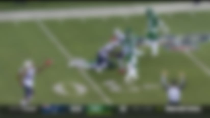 Matthew Slater falls on Jets muffed punt for another Pats turnover
