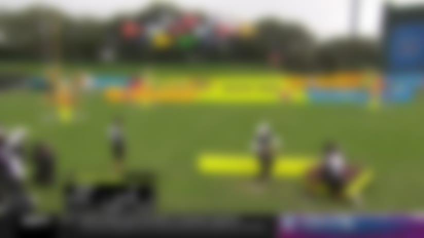Deshaun Watson competes in 'Precision Passing'   2020 Pro Bowl Skills Showdown