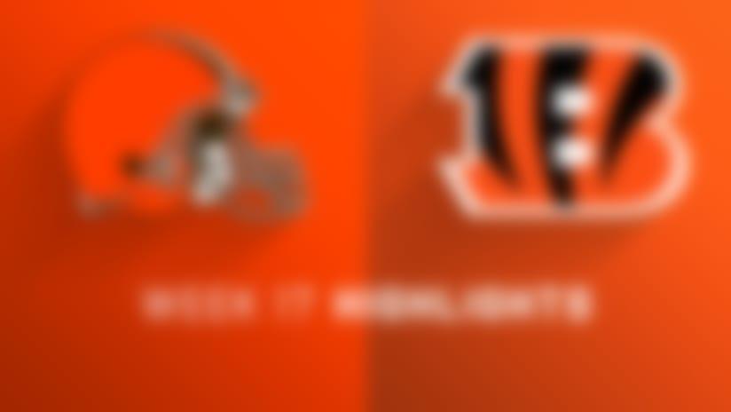 Browns vs. Bengals highlights | Week 17