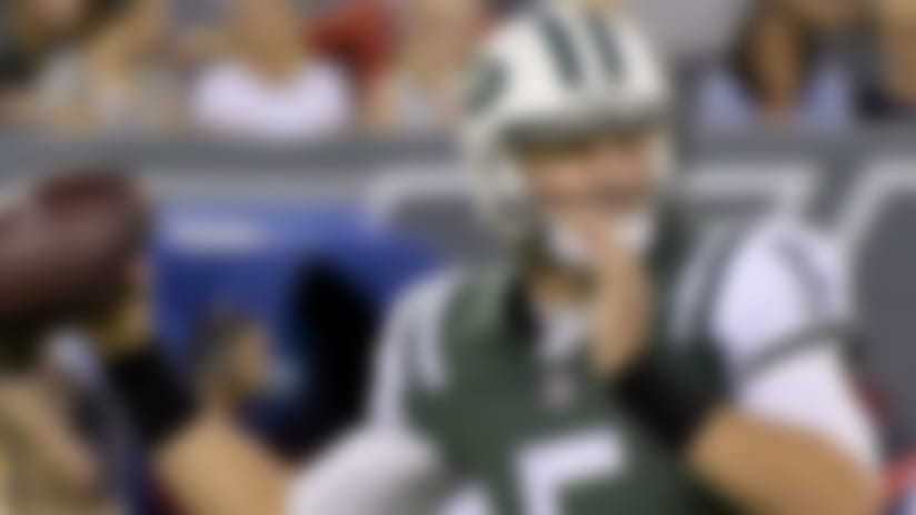 Jets' Christian Hackenberg inspires hope in first outing