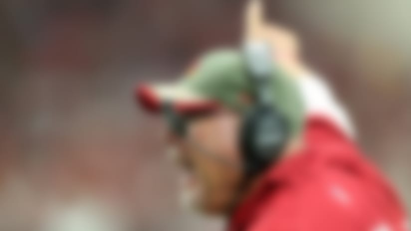 """Cardinals GM Steve Keim on Arians: """"He has such a unique gift of MF-ing them during the week and getting them to play hard for him on Sunday."""""""