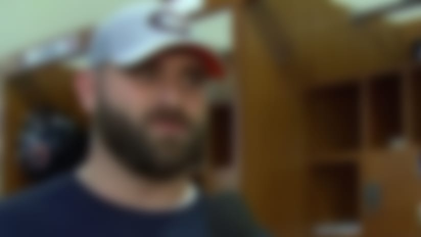 Chicago Bears offensive guard Kyle Long on playing vs. brother Philadelphia Eagles defensive end Chris Long: 'On Sunday, we're n