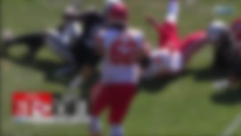 Raiders ambush Patrick Mahomes for third-down strip-sack