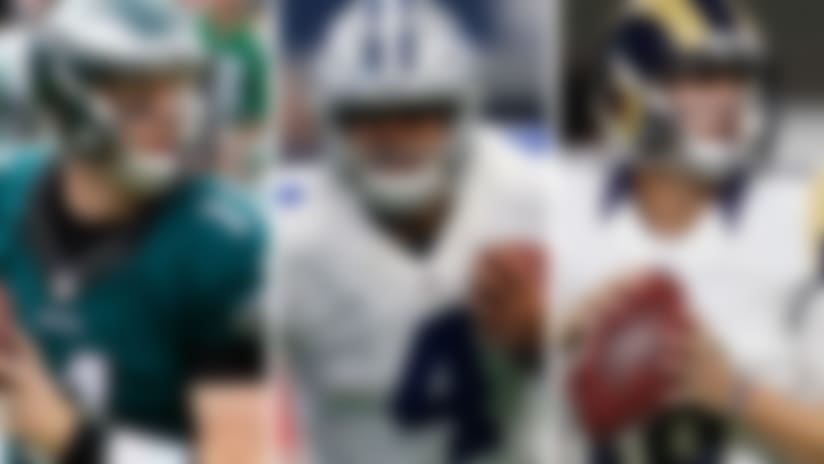 Three methods on how to approach a rookie quarterback