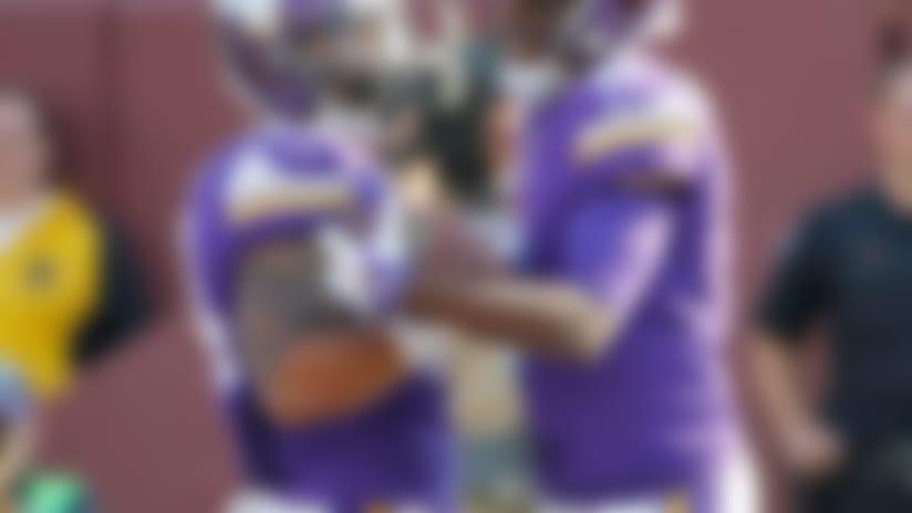 Vikings run all over Falcons in Bridgewater's debut