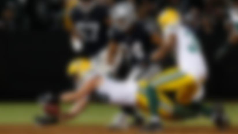 EJ Manuel fumbles on QB run, Packers recover