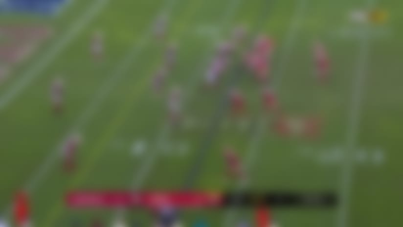 Can't-Miss Play: Pick Hicks! Cards LB rumbles for huge return after red-zone INT