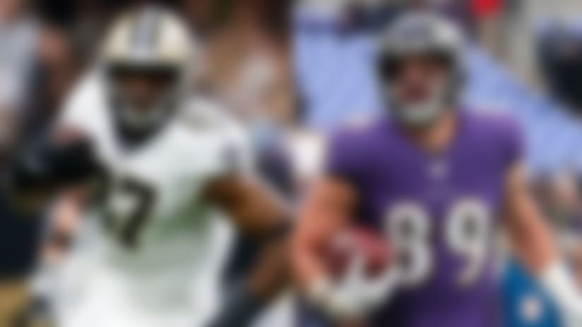 Fantasy Points Per Touch: Tight ends