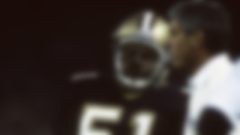 Sam Mills made the Pro Bowl four times in nine seasons with Jim Mora and the Saints.