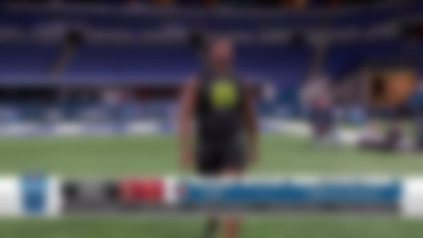 Austin Jackson runs 5.07 second 40-yard dash