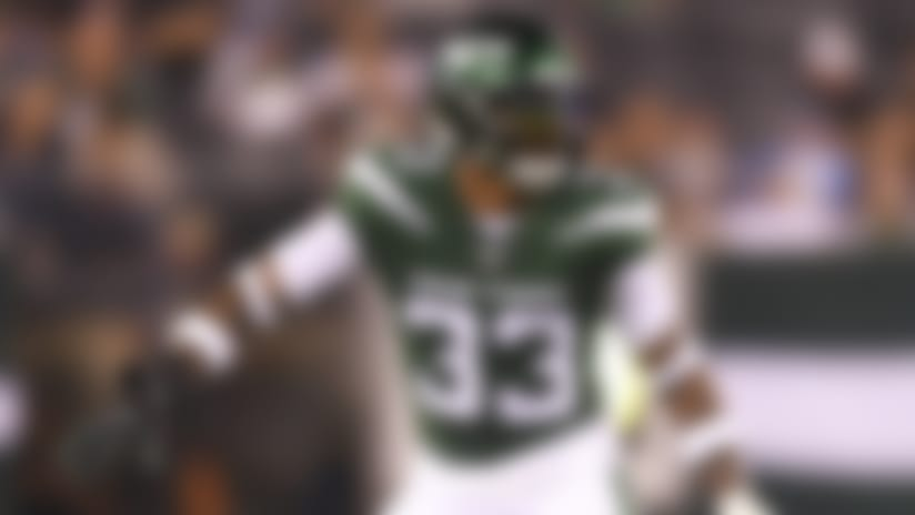 New York Jets safety Jamal Adams (33) during a preseason week 3 game against the New Orleans Saints on Saturday August 24, 2019 in East Rutherford, NJ. (Evan Pinkus via AP)