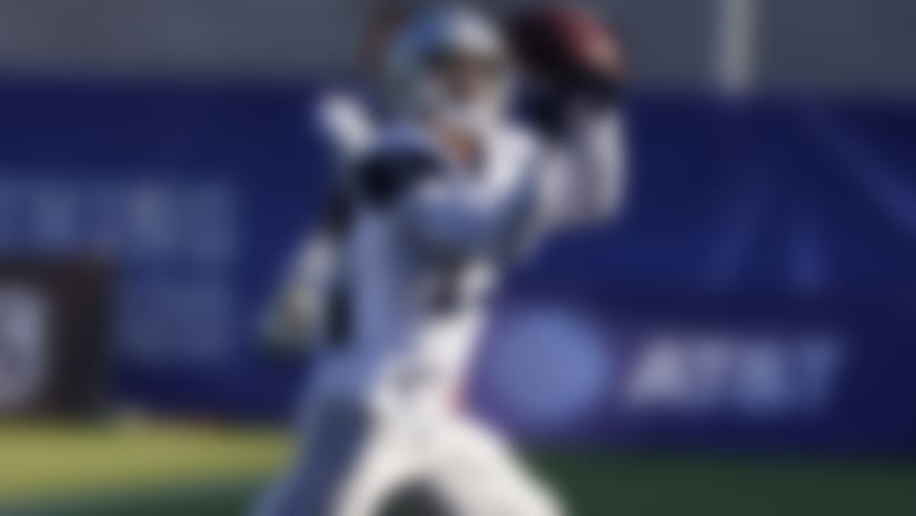 Dallas Cowboys wide receiver Devin Smith (19) makes a catch during NFL football practice in Frisco, Texas, Friday, Aug. 21, 2020. (AP Photo/LM Otero)