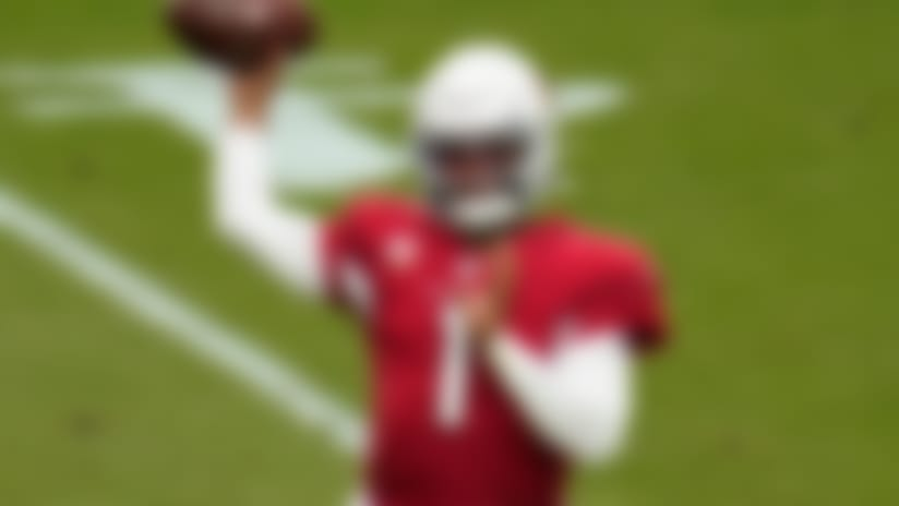 Arizona Cardinals quarterback Kyler Murray (1) throws against the Washington Football Team during the first half of an NFL football game, Sunday, Sept. 20, 2020, in Glendale, Ariz. (AP Photo/Ross D. Franklin)