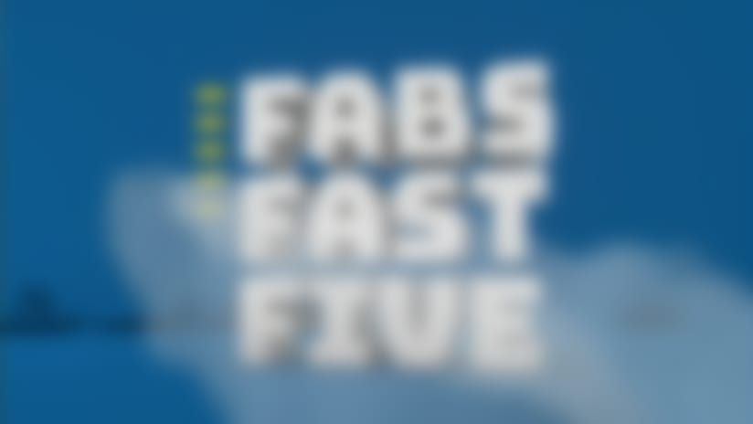 NFL Network's Michael Fabiano's fast five players on the rise | 'NFL Fantasy Live'