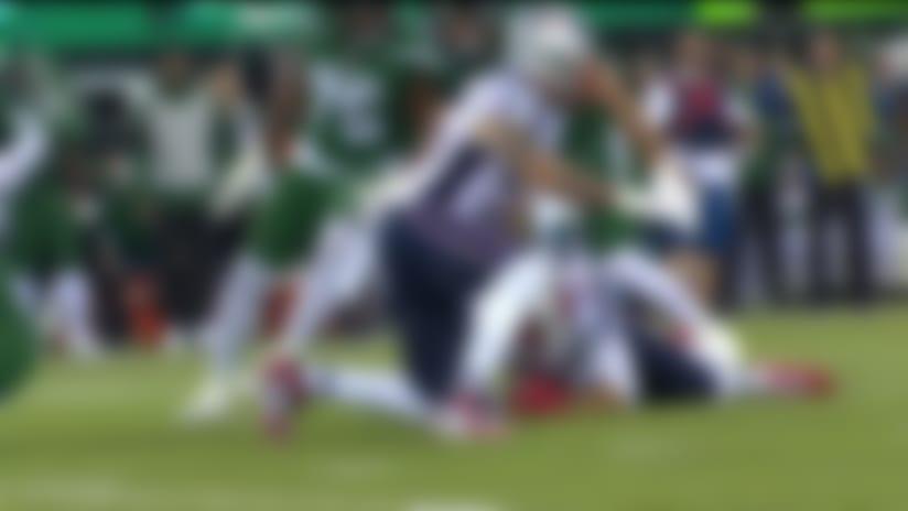 Simon says: Pats' football! DE strip-sacks Darnold for another turnover