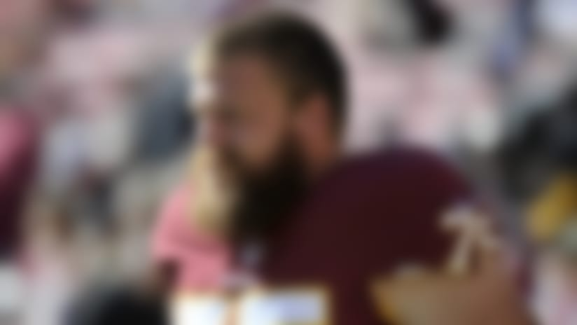 Brandon Scherff wants to play entire career with Washington
