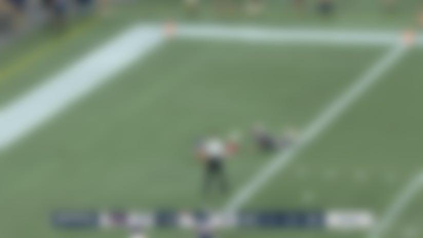 Kyle Lauletta lofts ball to Scott Simonson for 27-yard TD