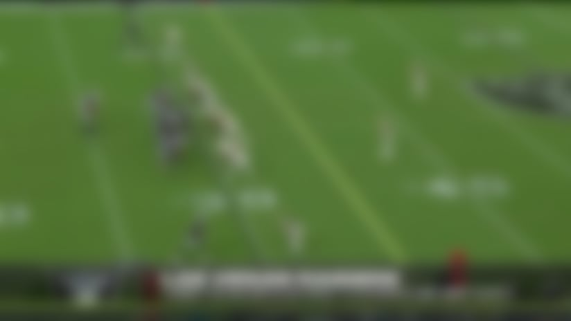 Nelson Agholor stops on a dime for speedy third-down pickup