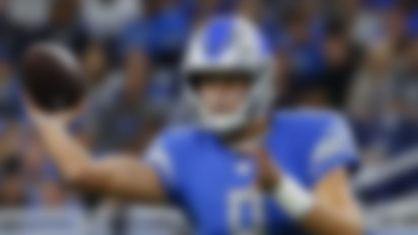 Roundup: Starting streak in jeopardy for Matthew Stafford