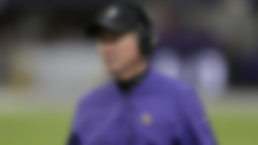 Minnesota Vikings head coach Mike Zimmer watches from the sideline during the second half of an NFL football game against the Chicago Bears, Sunday, Dec. 29, 2019, in Minneapolis. (AP Photo/Andy Clayton-King)