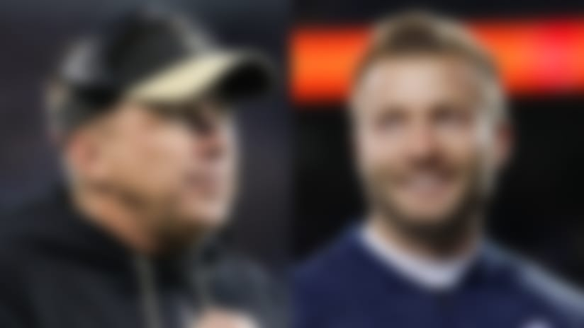 Keys to Sean McVay's, Sean Payton's differing offensive methods