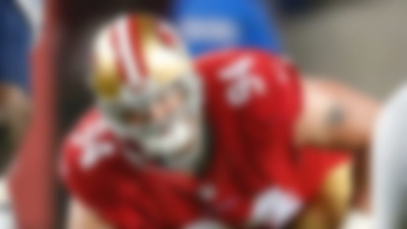Niners defensive tackle Justin Smith retires
