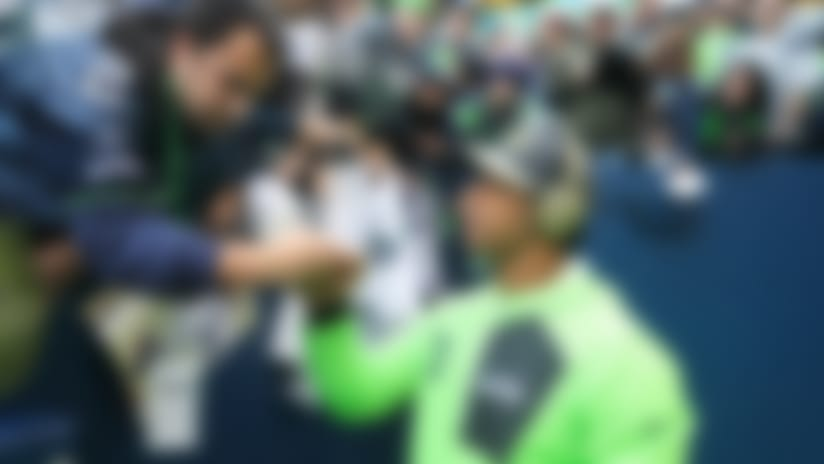 With many Seahawks mainstays out of the picture, the spotlight is shining firmly on Russell Wilson.