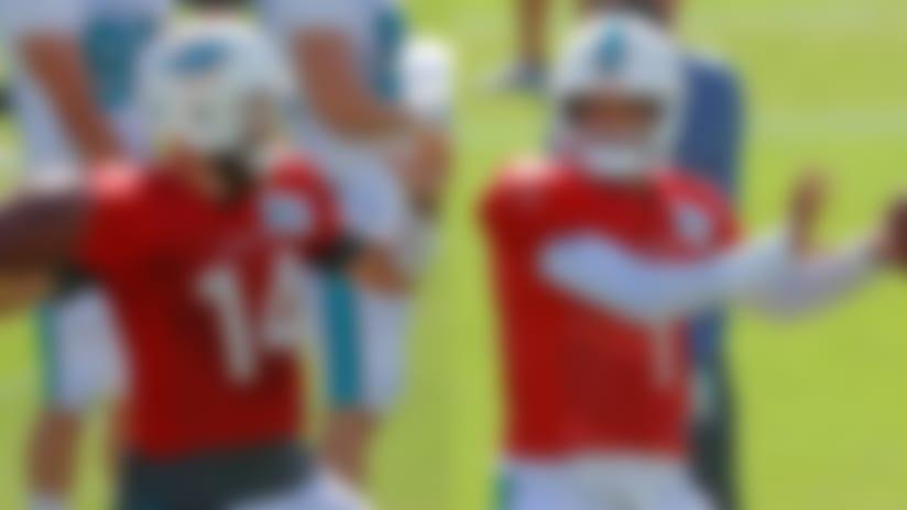 Training Camp Buzz: Ryan Fitzpatrick expected to win Dolphins' QB battle over Tua Tagovailoa