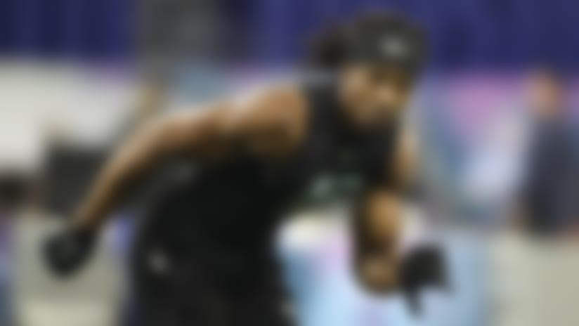 Lenoir-Rhyne defensive back Kyle Dugger's 2020 NFL Scouting Combine workout